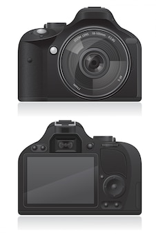 Photo camera vector illustration