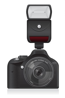 Photo camera vector illustration