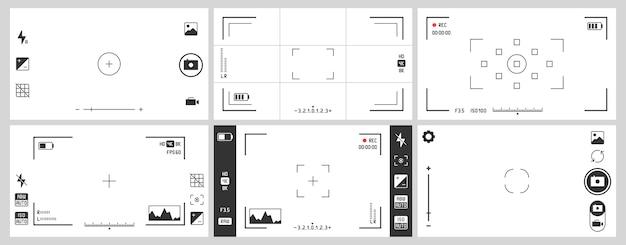 Видоискатели фотоаппаратов. фотографии ui зум, регулировка рамки фокусировки и цифровой видоискатель.