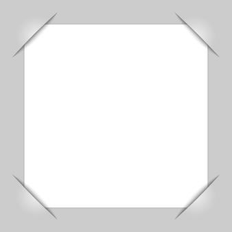 Photo frame corners