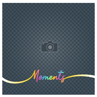 Photo frame and sign moments. blank photo frame