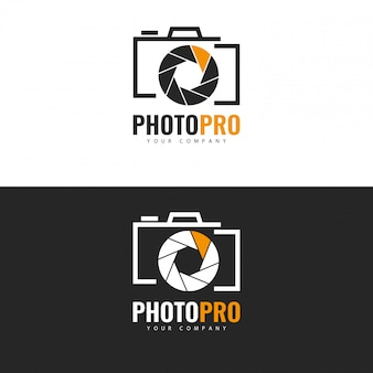 Photo logo template