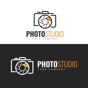 Photo studio 로고 디자인