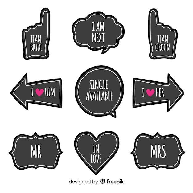 photo relating to Free Printable Photo Booth Props Words named Prop Vectors, Pictures and PSD documents Totally free Down load