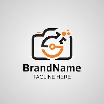 Photograpgy lab camera logo design.