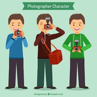 カメラマン文字