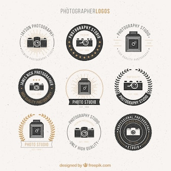 Photographer logos pack