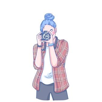 Фотограф женщина