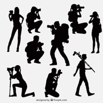 Photographers in different situations