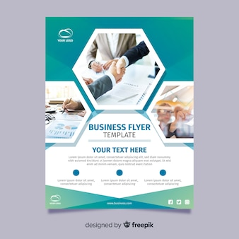 Photographic business flyer
