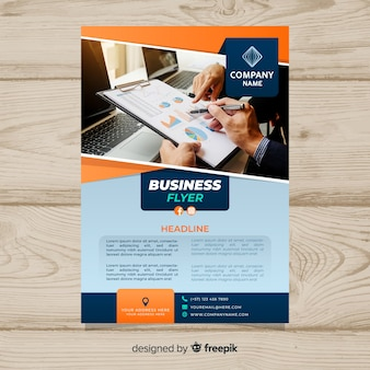 Photographic business poster