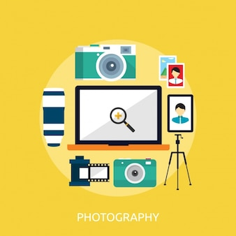 Photography background design