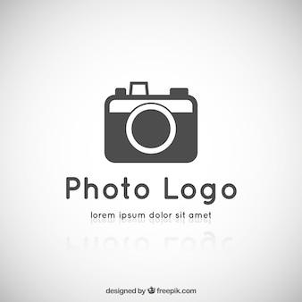 Photography camera logo Premium Vector