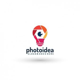 Photography company logo template