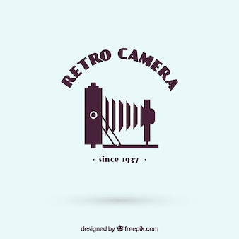 Photography logo with side view