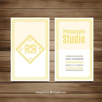 Photography studio flyer design