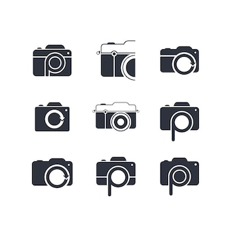 Photography theme logotype