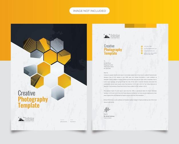 Photographyletterheadデザイン