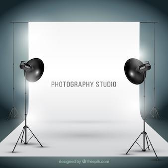現実的なスタイルでphotogtaphyスタジオ