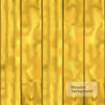 5枚の板の写実的な明るい木の背景