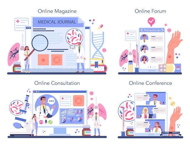 Онлайн-сервис или платформа фтизиатра