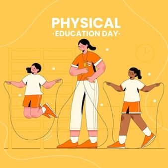 体育の日のイラスト