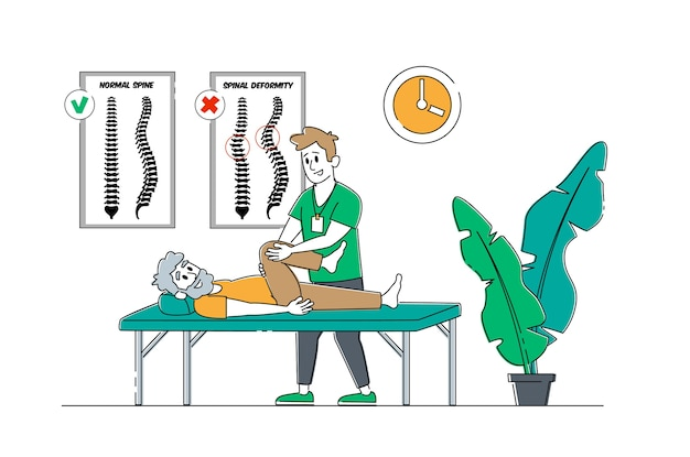 Physical therapy service in nursing home