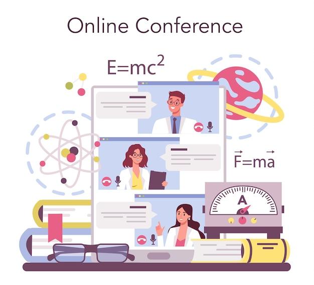Physicist online service or platform