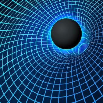 Физика - феномен аномальной черной дыры