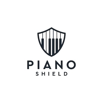 Piano shield logo   inspiration
