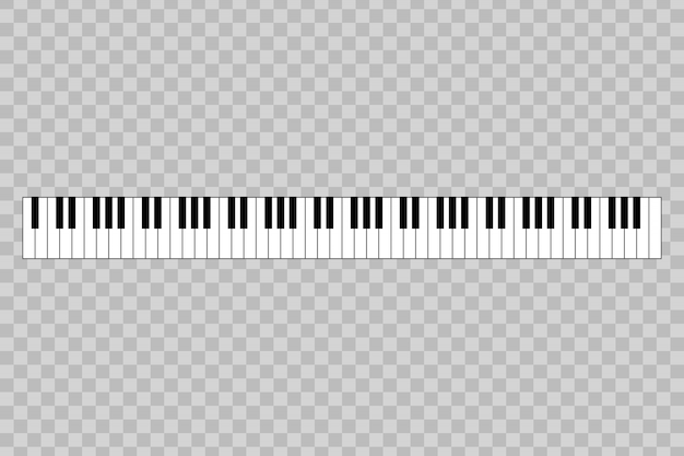 88 키의 피아노.