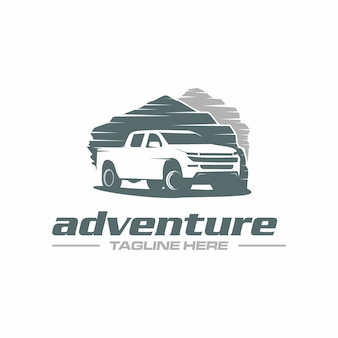 Pick up truck adventure