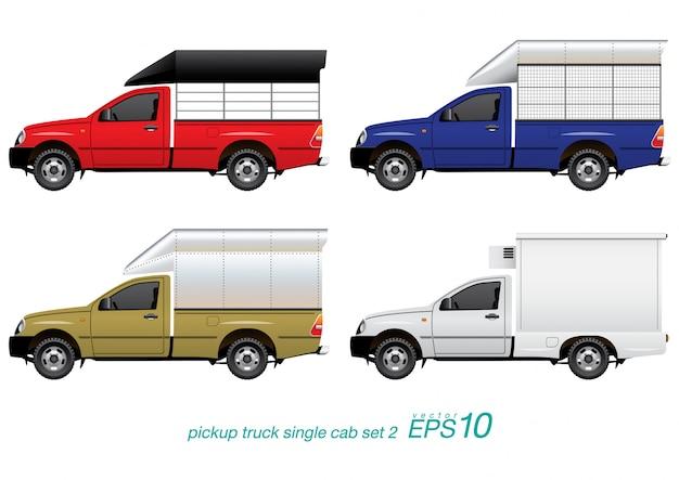 Pickup truck set