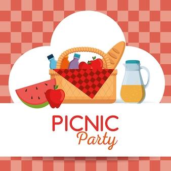 피크닉 파티 포스터