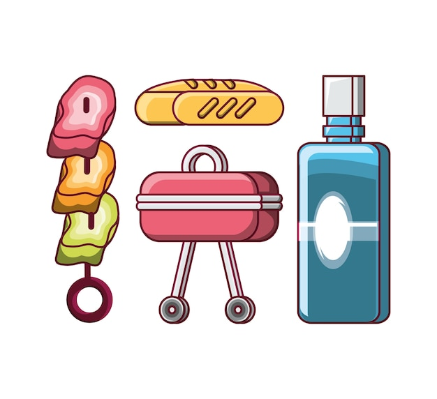 Picnic related icons