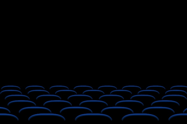 Picture of cinema seats