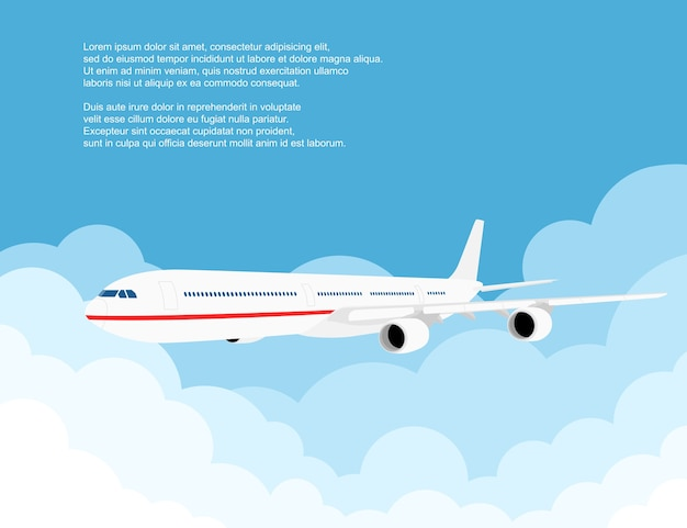 民間航空機予測に基づく雲、スタイルの図の画像