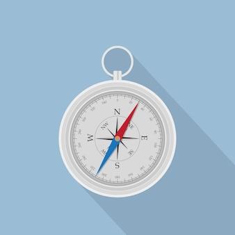 Изображение компаса, икона стиля