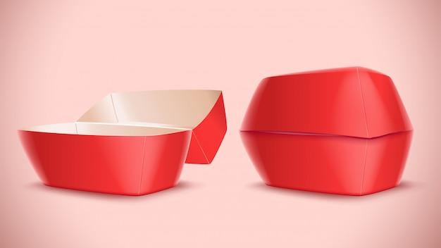 Изображение коробки еды