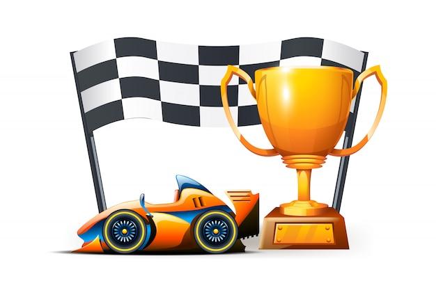 レースの写真