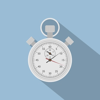 Изображение секундомера, икона стиля