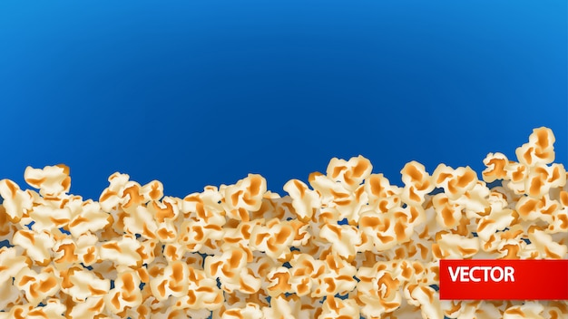 Picture of popcorn background