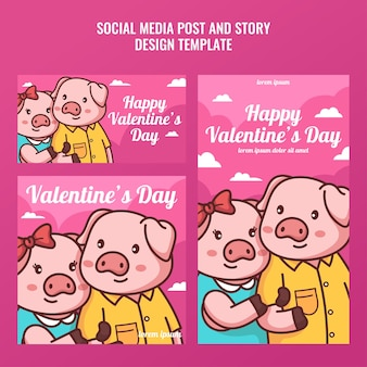Свинья пара в социальных сетях и история