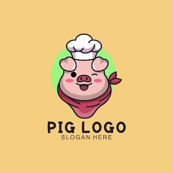 돼지 로고