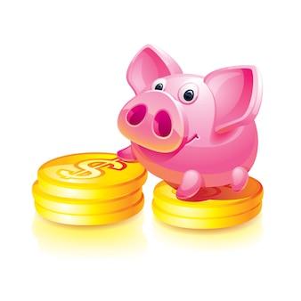 Piggy bank guard