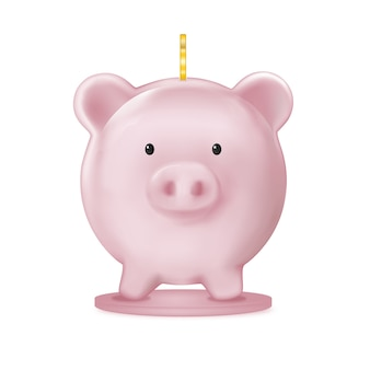 Копилка, иллюстрация экономики сбережений