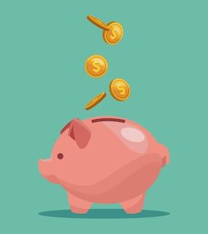 Piggy money savings