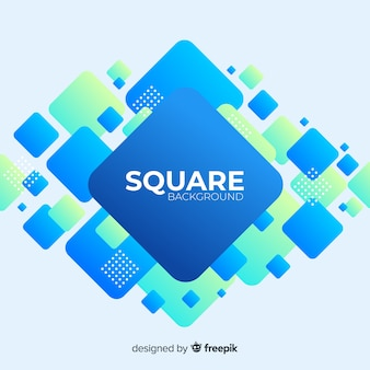 Pile of squares background