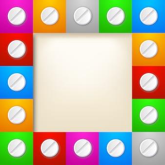 Таблетки в рамке