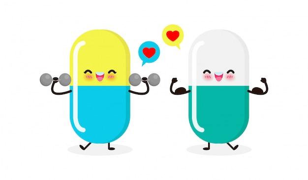 ウイルスや細菌に対する錠剤の保護